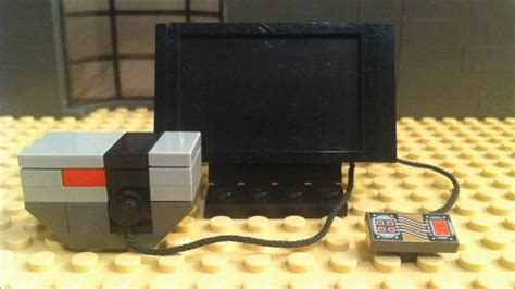 How To Build A Lego Tv In Stop Motion Lego Moc