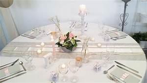 Deco Table Rose Et Gris : exemple de table mariage ~ Melissatoandfro.com Idées de Décoration