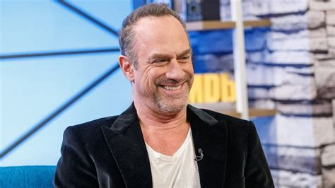 christopher meloni reacts  photo   butt
