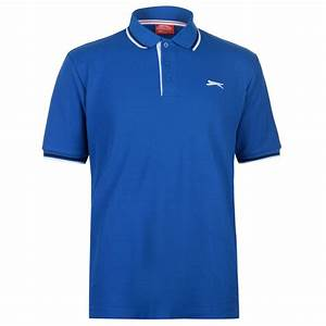 Slazenger | Slazenger Tipped Polo Shirt Mens | Mens Polo ...