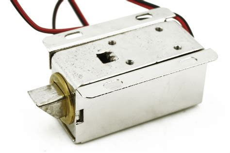 Door Drawer Tongue Down Electric Lock Assembly Solenoid