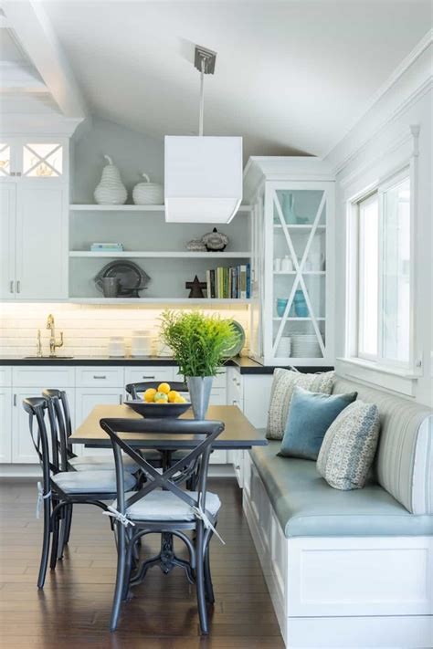 Diy Kitchen Nook Ideas by Small Kitchen With Dining Nook Ideas For Small Kitchen