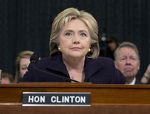 Calm Hillary Clinton withstands committee's questioning on ...