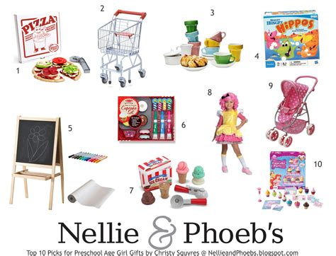 My Top 10 Preschool Girl Gifts