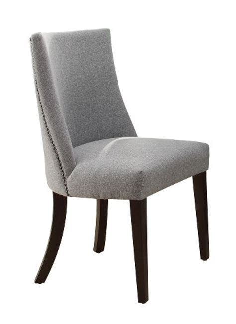 homelegance 2588s accent dining chair blue grey set of 2