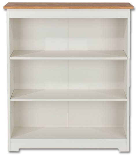 Cheap White Bookcases by Products Cl918 Colorado White Low Wide Bookcase