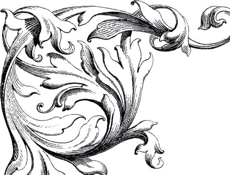 wedding clip art scrolls  graphics fairy