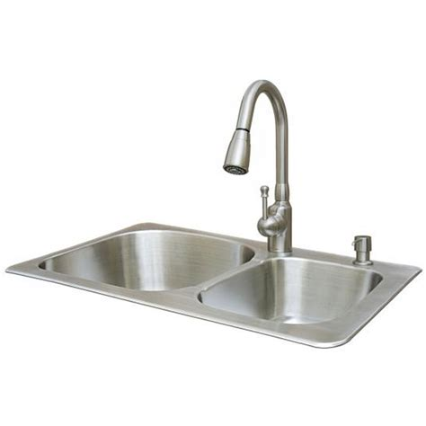 kitchen sink faucet combo kitchen sink and faucet combo thedailygraff com