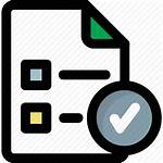 Icon Approved Policy Checked Management Task Signed
