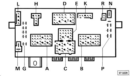 1982 Volkswagen Rabbit Fuse Box Diagram by Solved I Need A Diagram For A 2001 Vw Cabrio Relay I Fixya