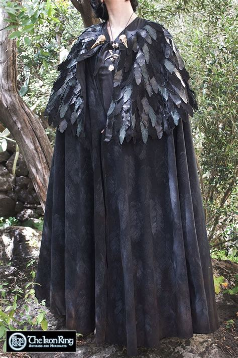 image result  raven cloak cloak fantasy fashion raven
