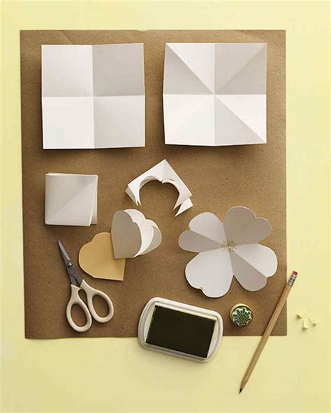 Paper Flower Templates Martha Stewart by Paper Dogwood Flowers Martha Stewart