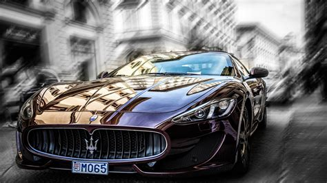 Maserati Granturismo Mc Stradale Desktop Wallpaper