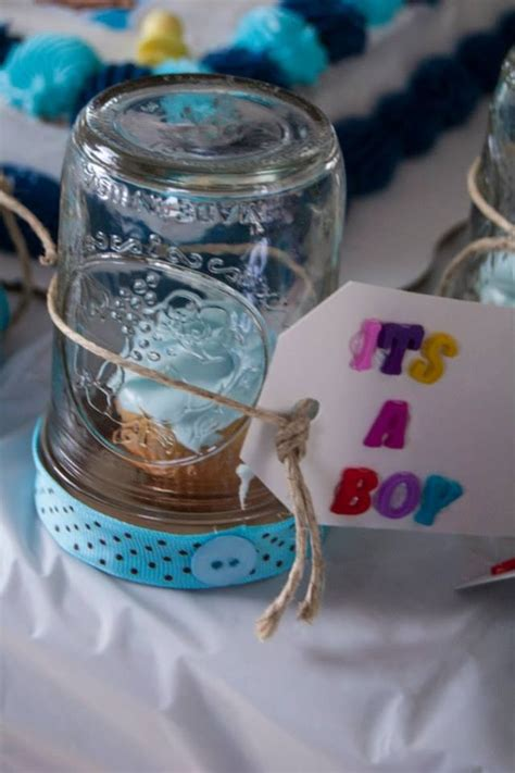Mason Jar Baby Shower Decorations by Mason Jar Baby Shower Favors Super Easy It S A Mason