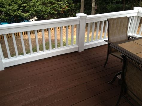Painting Deck Spindles