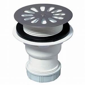 Bonde Verticale Pour Receveur Extra Plat : bonde de douche pour receveur 60 mm sortie verticale ~ Dailycaller-alerts.com Idées de Décoration