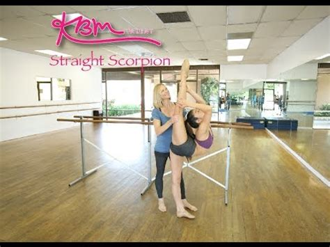 How To Do A Straight Scorpion Youtube