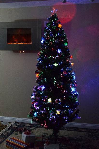 Christmas Tree Fiber Optic Foot Lit Pre
