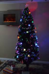 high quality 5 foot pre lit fiber optic tree