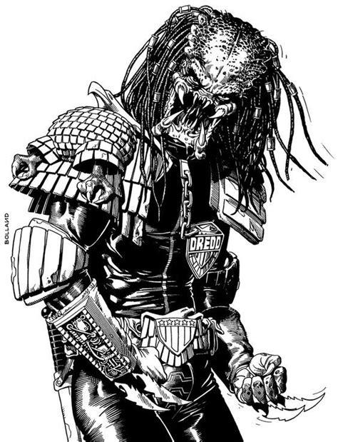 Predator by Brian Bolland: | Predator art, Predator alien