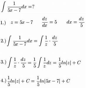 Ln Berechnen : integration durch substitution ~ Themetempest.com Abrechnung