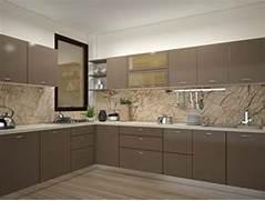 Moduler Kitchen Design by Indian Modular Kitchen Design L Shape