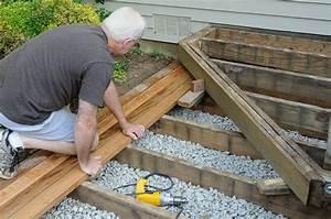 holzdielen auf der terrasse verlegen anleitung in 3 With terrasse holzdielen