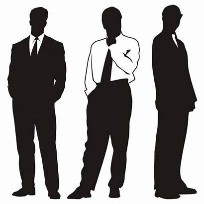 Businessman Clipart Silhouettes Clip