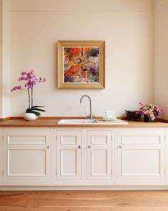our original kitchens on pinterest farrow ball kitchens With best brand of paint for kitchen cabinets with northern lights canvas wall art