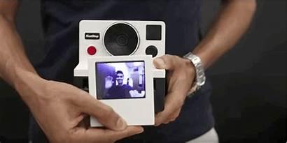 Polaroid Camera Gifs Instant Animados Esta Aemebe