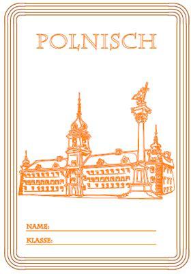deckblatt polnisch unterricht ausdrucken