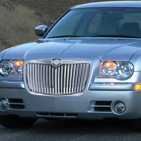 2005 Chrysler 300 Grill by 2005 2010 Chrysler 300c 300 Front Vertical Grille Chrome