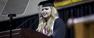 Student Speaker Learned Value Of Words | EKU Stories ...