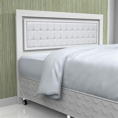 cabeceira cama de casal branca cristais r 499 90 em mercado livre