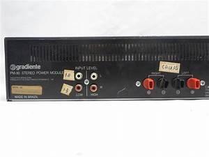 Amplificador Gradiente Pm 80