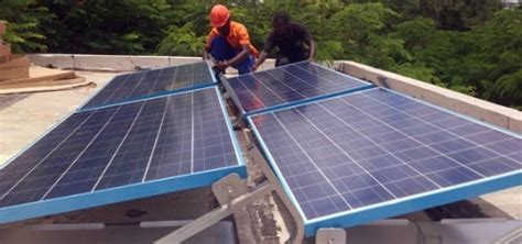 chambre froide solaire station energy services une chambre froide solaire