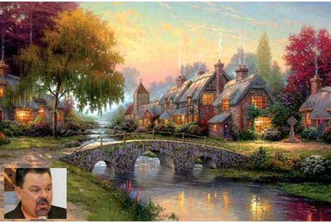 Thomas Kinkade, The 'painter Of Light' Is No More