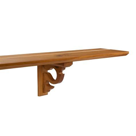 wooden shelf brackets versailles wooden shelf 78 quot plate groove brackets