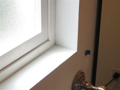 drywall window sill frame repair around cracks help bathroom plastering patching doityourself