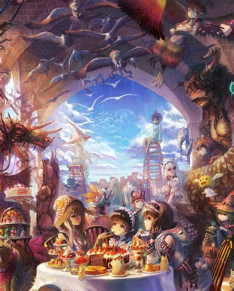 anime inspired hd fantasy wallpapers   collection