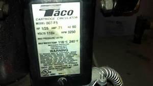 Taco Cartridge Circulator 007-f5
