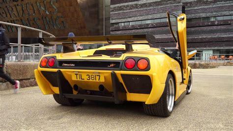 Lamborghini Diablo Sv Loud Sounds In Cardiff!