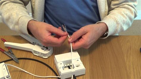 Wiring Telephone Extension Junction Box by How To Install A Telephone Extension Socket