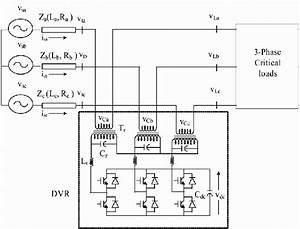 Schematic Diagram Of Capacitor Supported Dvr For Power