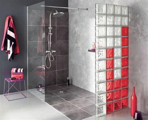 mur en verre pour salle de bain les pav 233 s de verre gk travaux
