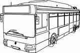 Bus Coloring Line Drawing Pages Buses Draw Getdrawings Sheet Vw Renault Printable Getcolorings Clipartmag sketch template