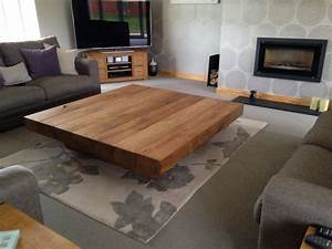 large square coffee table With very large coffee table