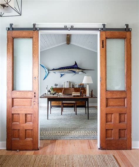 interior sliding barn doors for homes 20 home offices with sliding barn doors