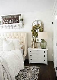 nightstand decorating ideas One Horn White Nightstand Makeover - Liz Marie Blog