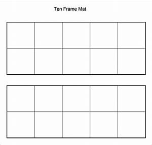 Common worksheets printable ten frames preschool and for 10 frame template printable